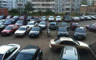 Какие существуют нормы парковочных мест для жилых многоквартирных домов