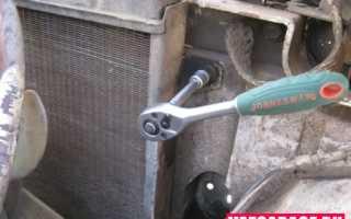 Замена радиатора ВАЗ 2121 Нива