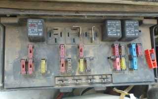 Предохранители и реле ВАЗ 2107 Неисправности электрики