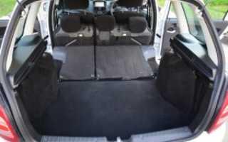 Какой объем багажника Лады Калина универсал в литрах