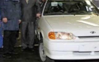 Новый автомобиль ВАЗ 2114