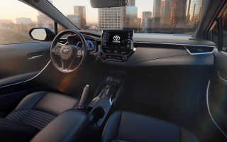 Технические характеристики Toyota Corolla 2020