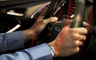 Бьет руль при торможении на большой скорости диагностика неисправностей
