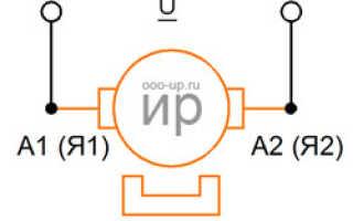 Коллекторный двигатель принцип работы