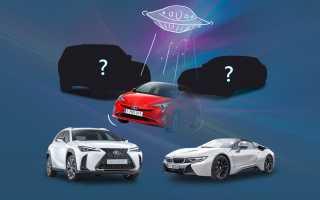 Продажа авто с гибридным двигателем в России