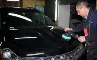 Шлифовальная машинка для полировки кузова автомобиля