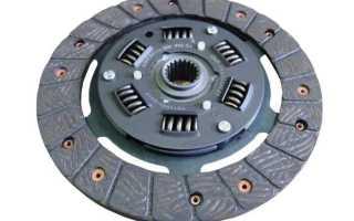 Как заменить диск сцепления