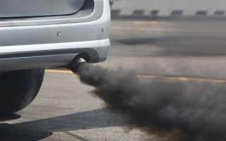 Черный дым как признак неполадок дизельного мотора