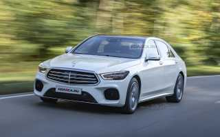 Представлен новый Mercedes S-Class W222 2020