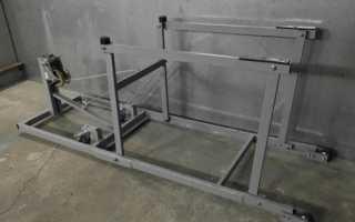 Изготовление автомобильного подъёмника для гаража своими руками
