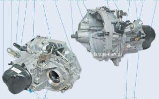 Механическая коробка ВАЗ 21809