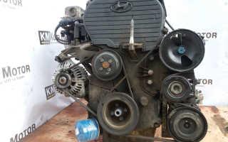 Описание двигателя G4JP