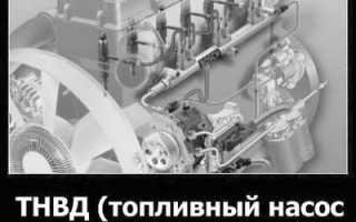 ТНВД устройство виды принцип работы регулировка и ремонт