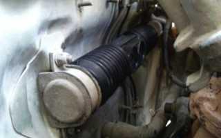 Ваз 2109 замена пыльника рулевой рейки