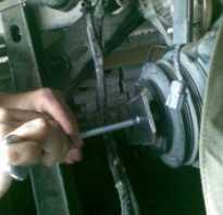 Как снять шкив и открутить главный болт коленвала