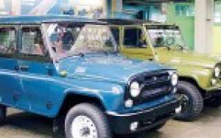 УАЗ Хантер и 469