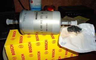 Когда по регламенту необходимо менять топливный фильтр