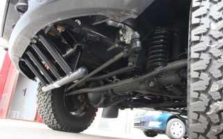 УАЗ Patriot limited  поперечная тяга передней подвески