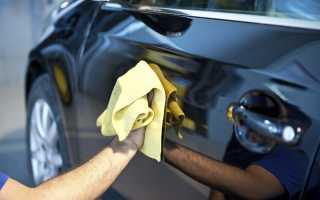 Как пользоваться жидким воском для авто