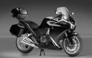 Мотоцикл с автоматической коробкой передач