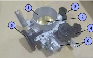 Мицубиси лансер 9 как почистить дроссельную заслонку