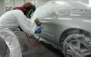 Инструмент для покраски автомобиля