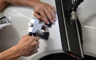 Обзор основных способов рихтовки кузова автомобиля