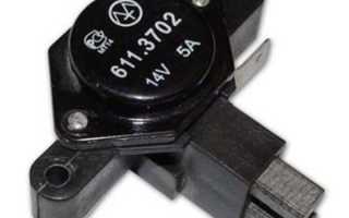Трехуровневый регулятор напряжения для ВАЗ-2107