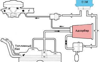 Для чего нужен адсорбер топливной системы принцип работы