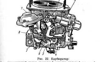 Регулировка карбюратора ВАЗ 2101