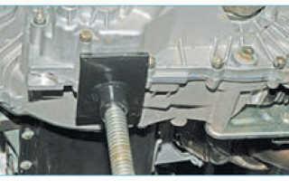 Замена верхней опоры двигателя Приора гитара