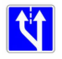 Дорожный знак Начало полосы 5154