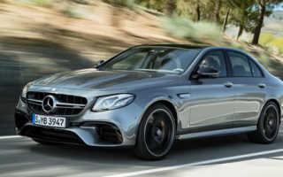 Представлен Mercedes-AMG E63 в новом кузове W213