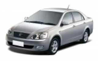 Технические характеристики автомобиля Geely FCVision 18 2007