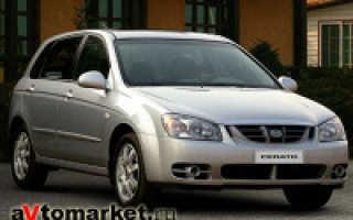 Технические характеристики автомобиля KIA Cerato 16 YD