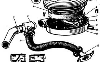 Устройство воздушного фильтра и терморегулятора
