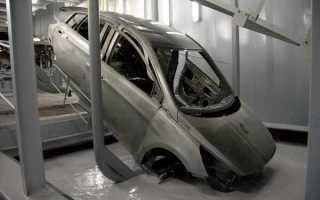 Обеспечь кузов и днище машины защитой от коррозии