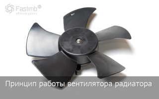 Как работает вентилятор охлаждения двигателя
