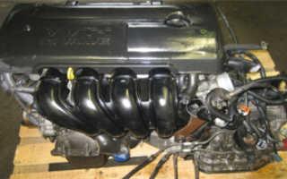 Двигатель 1ZZ Характеристики двигателя