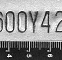 Идентификационный номер автомобиля VIN и WMI